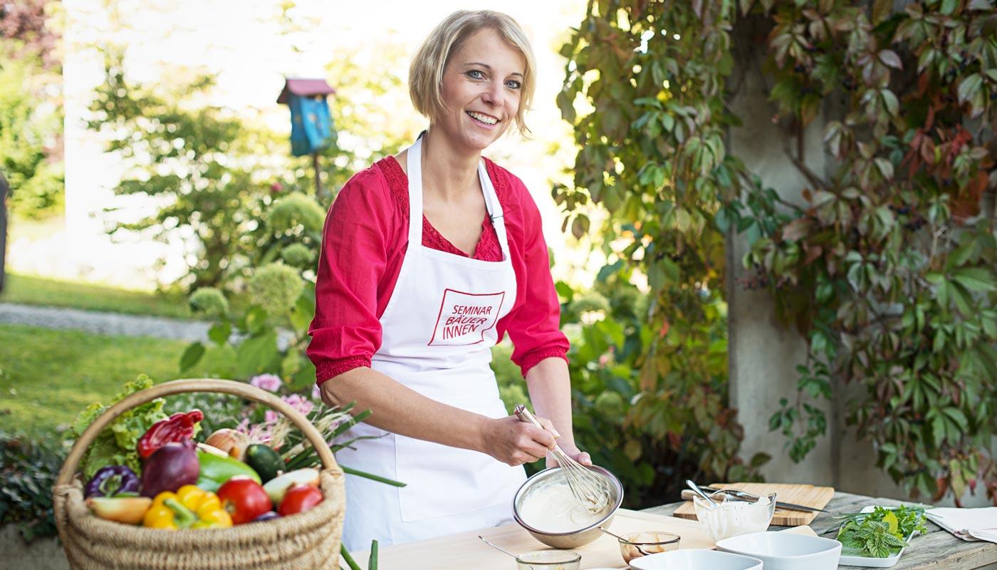 Seminarbäuerinnen Österreich - Bundeskampagne - Praktische Koch- und Backkurse