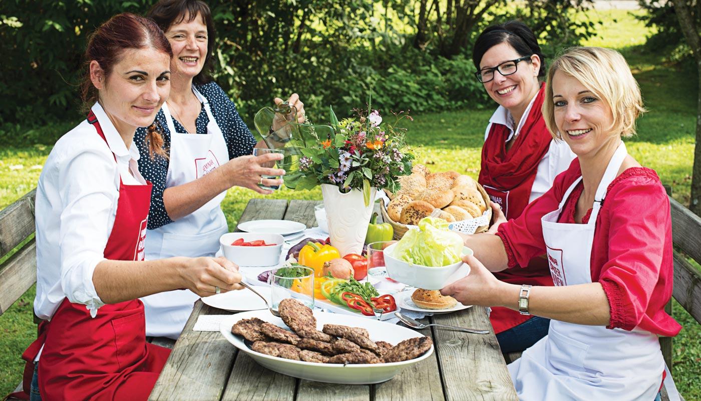 Seminarbäuerinnen Österreich - Bundeskampagne - Seminarbäuerinnen informieren auf Messen