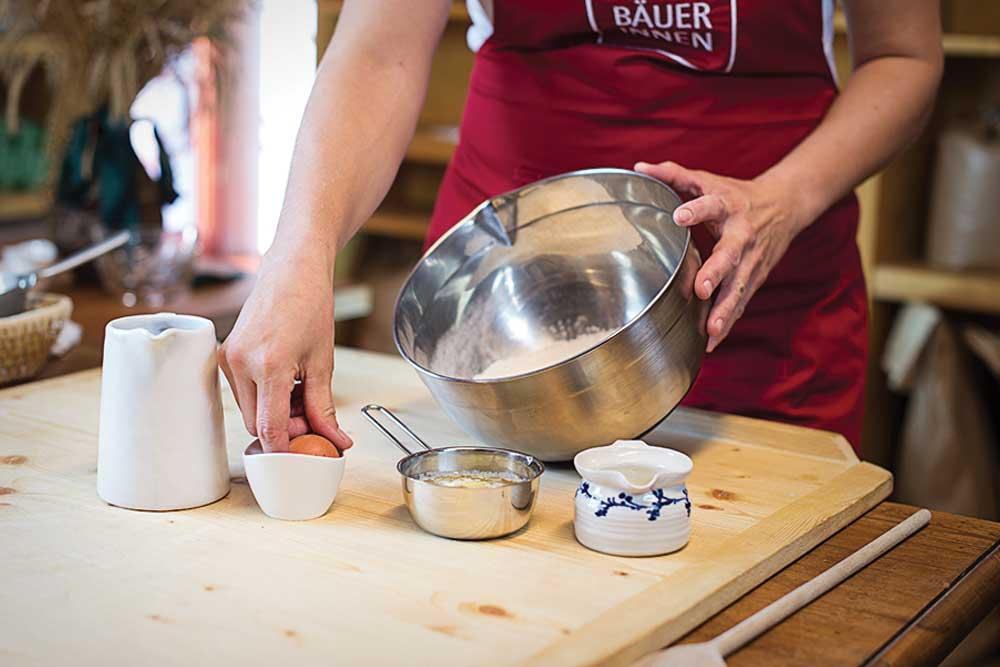 Seminarbäuerinnen Österreich - Praktische Koch- und Backkurse