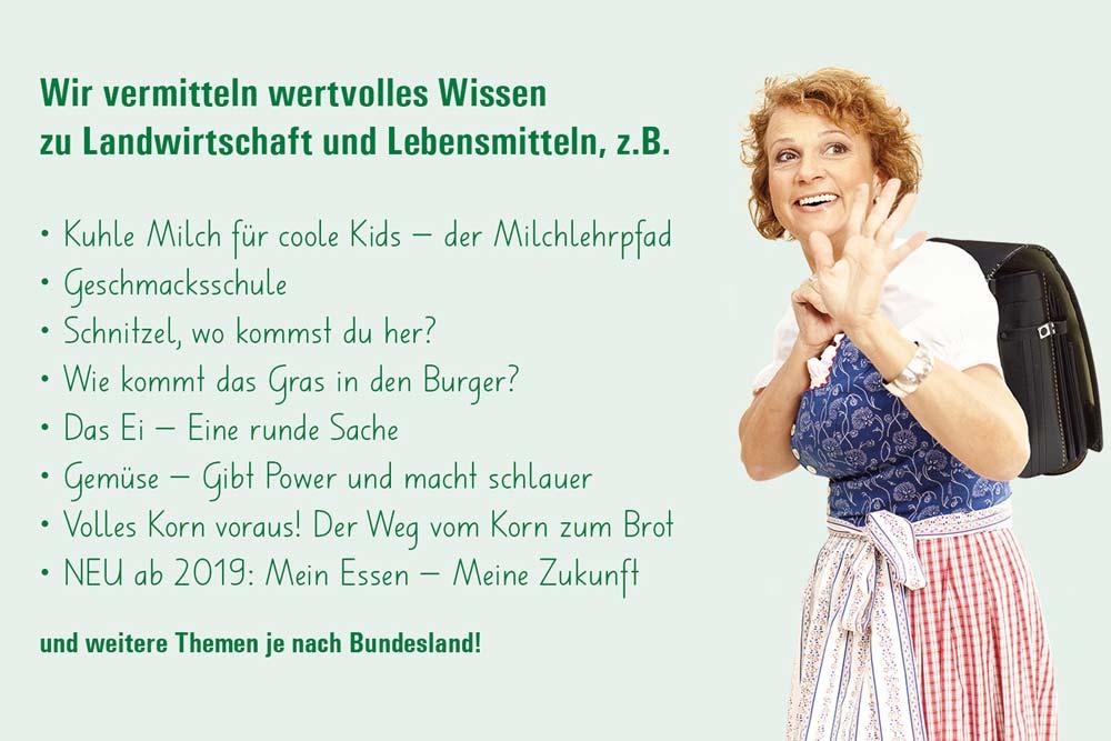 Seminarbäuerinnen Österreich - Die Seminarbäuerinnen kommen in die Schule